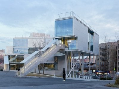 Campbell Sports Center in New York by Steven Holl Architects
