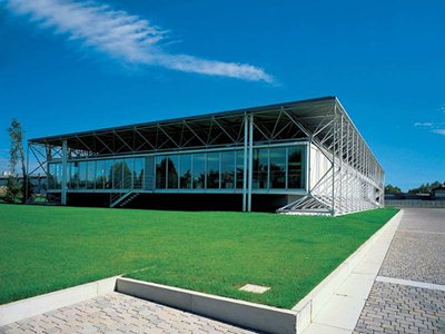 B & B Italy celebrates the 40th birthday of its Renzo Piano, Richard Rogers - designed headquarters