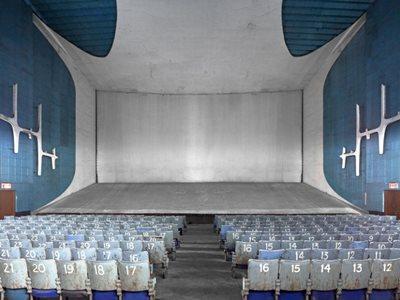 A secret Cinema in Le Corbusier's Chandigarh