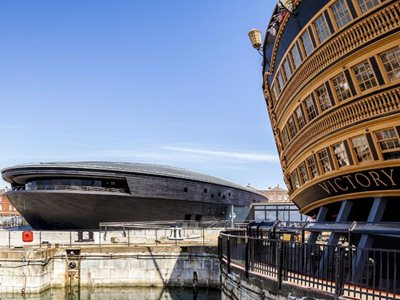 The Mary Rose Museum by Wilkinson Eyre opens in Portsmouth