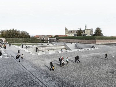 The Danish National Maritime Museum in Helsingør by BIG