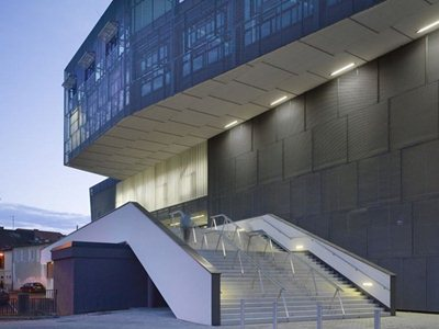 Eisenstadt, Austria: the new congress centre designed by pxt
