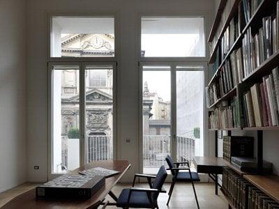 Antonella Tesei's home-cum-office in the historical centre of Milan
