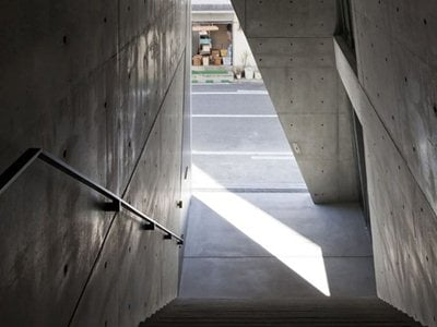 Tadao Ando: Kamigata Rakugo Association hall
