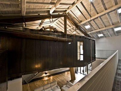 The Trastevere Loft in Rome by MdAA architects