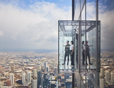 SOM completes transformation of Chicago's Skydeck