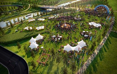 Queen Elizabeth Olympic Park re-opens for a weekend of entertainment