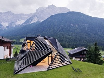 Plasma studio's Paramount Residence Alma in South Tirol