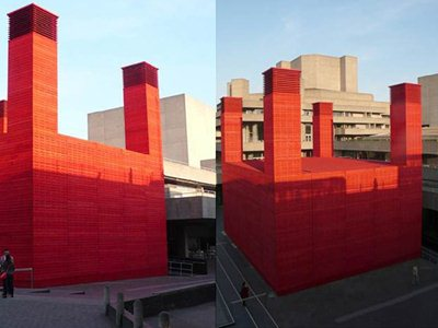 Haworth Tompkins creates a new temporary venue 'The Shed' at the National Theatre