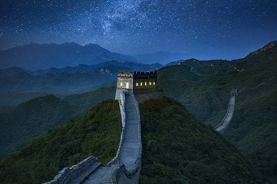 Would you like to spend a night on The Great Wall of China?