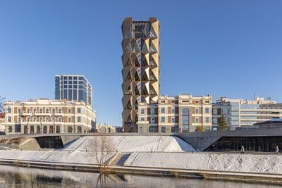RCC Headquarters: Foster + Partners' first completed building in Russia opens