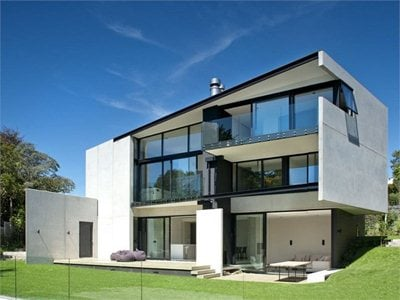 9 Elmstone: a concrete volume gives way to green