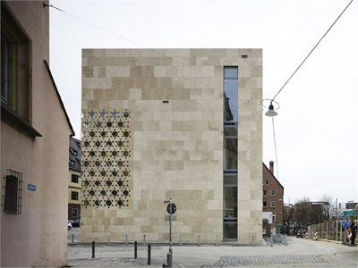 ksg architects' new synagogue in Ulm, Germany
