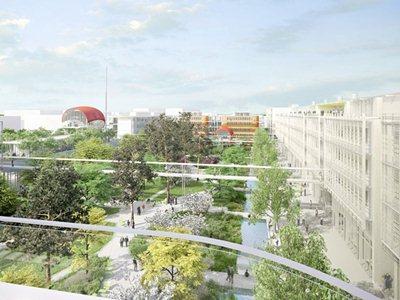 Renzo Piano designs a new campus near Paris