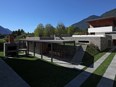 The single-family home in Postalesio designed by LFL architects