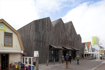 Mecanoo Architects' museum on the island of Texel in the Netherlands