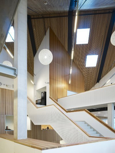 Amsterdam University College by mecanoo nominated for Amsterdam Architecture Prize