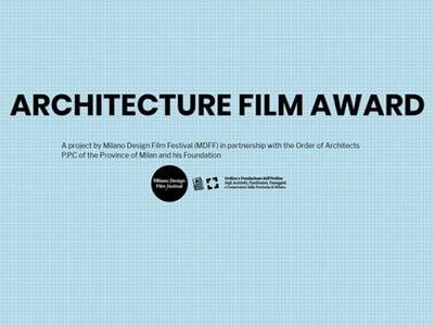 AFA | ARCHITECTURE FILM AWARD