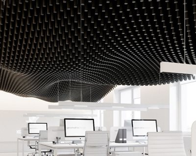 How Black Wooden Spade Handles have become a practical decision for parametric model of a ceiling