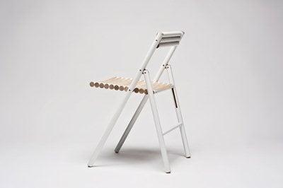 Reinier de Jong tells about his Steel Chair: how wooden handles can be reused