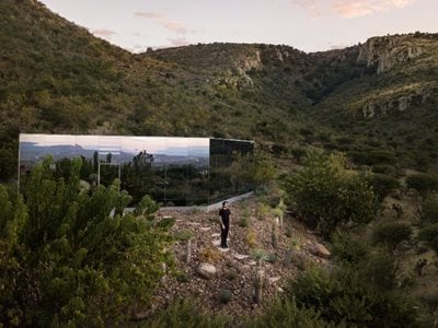 Casa Etérea on an Extinct Volcano in Mexico is a Liveable Installation Art