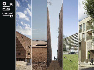 5 Finalists announced! Who will win the 2017 EU Mies Award?