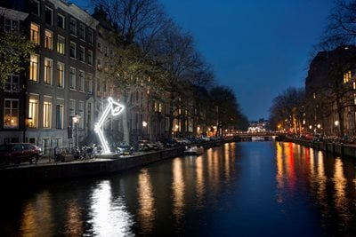 7th edition Amsterdam Light Festival kicked off