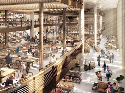 Foster&Partners reveal designs for the New York Public Library
