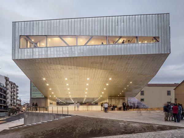 Cultural Center in Castelo Branco, Portugal Mateo Arquitectura