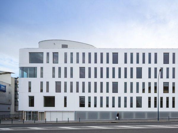 Pantin project Fassio-Viaud Architectes