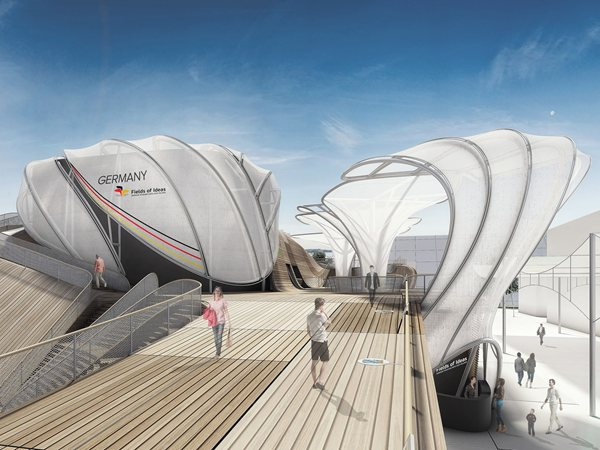 Germany Pavilion at Expo Milano 2015 SCHMIDHUBER
