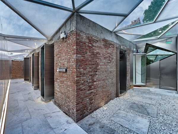 The Forbidden City Red-wall Teahouse CutscapeArchitecture