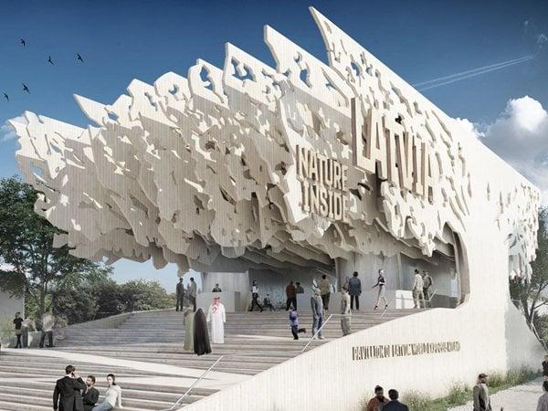 Latvia Pavilion at Expo Milano 2015  MADE arhitekti