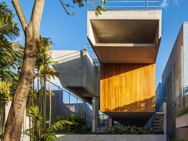 Weekend House in Downtown São Paulo spbr arquitetos
