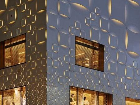 LOUIS VUITTON Matsuya Ginza Façade Renovation Jun Aoki
