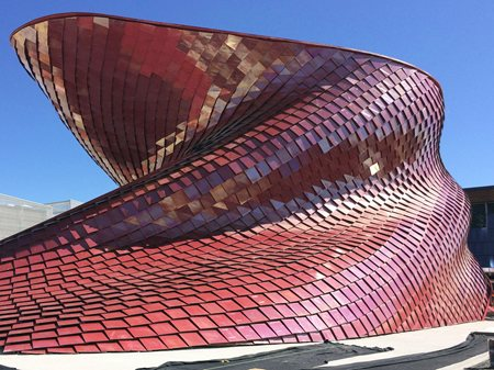 Vanke Pavilion at Expo Milano 2015 Studio Libeskind