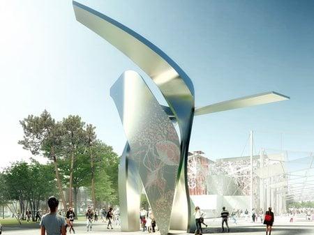 Siemens Gates Pavilion at Expo Milano 2015  Studio Libeskind