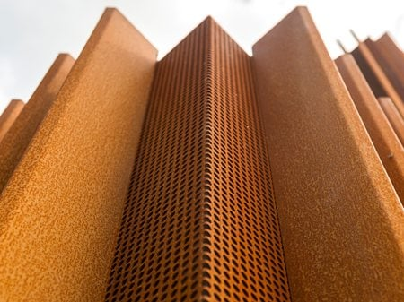 The Corten House DMOA architecten