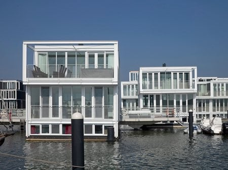 Floating Houses Ijburg Architectenbureau Marlies Rohmer