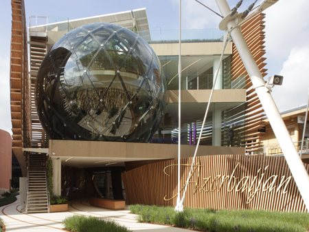 Azerbaijan Pavilion at Expo Milano 2015  Arassociati