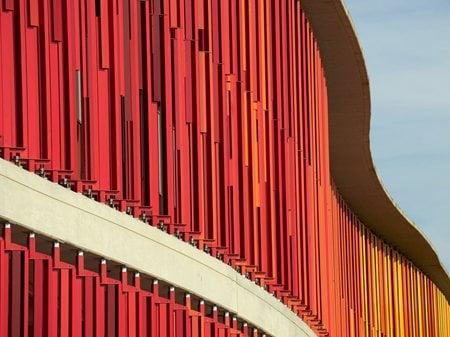 Reconversión Expo Zaragoza 2008 en la Nueva Ciudad de la Justicia Estudio Lamela
