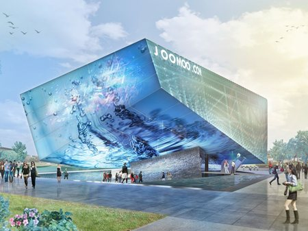 Amazing Asia JooMoo Pavilion at Expo Milano 2015 Nemesi