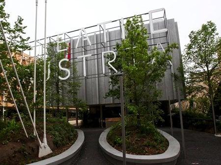 Austria Pavilion at Expo Milano 2015 terrain: