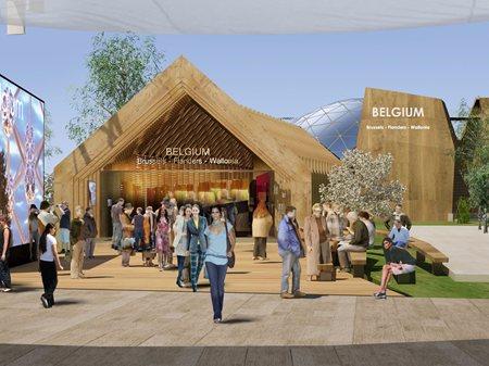 Belgium Pavilion at Expo Milano 2015 patrick genard & asociados