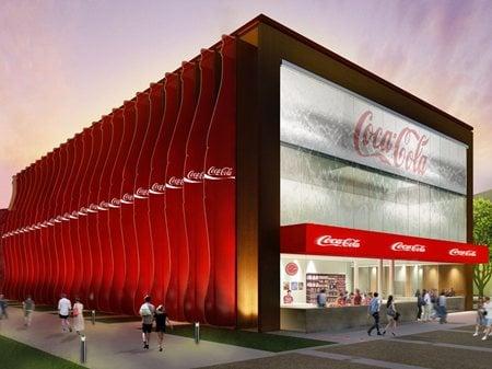 Coca-Cola Corporate Pavilion at Expo Milano 2015 Peia Associati