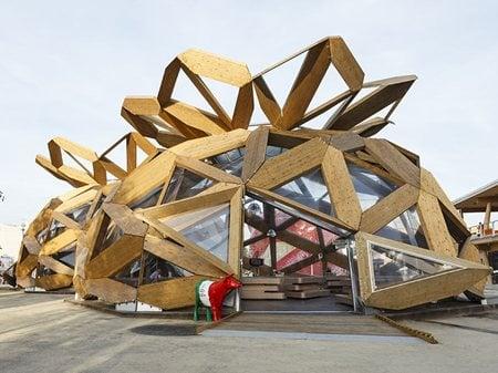 COPAGRI's Dome at Expo Milano 2015 Miralles Tagliabue EMBT