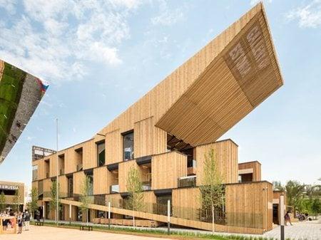 Estonia Pavilion at Expo Milano 2015 Kadarik Tüür Arhitektid