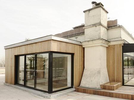 Extension bois à Meudon Atelier UOA
