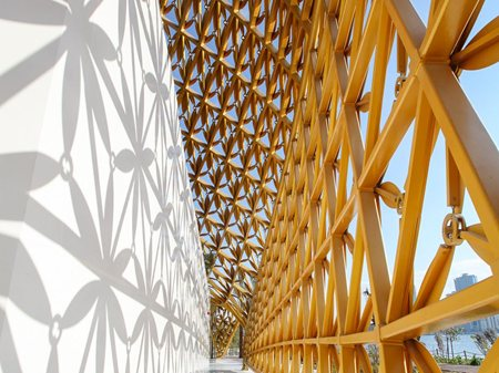 Butterfly Pavilion on Noor Island 3deluxe transdisciplinary design