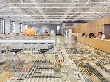 Biblioteca Can Manyer DFT arquitectos - Dilmé Fabré Torras i associats